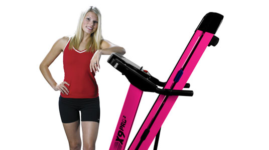 Compare the X9Pro Pink Treadmill