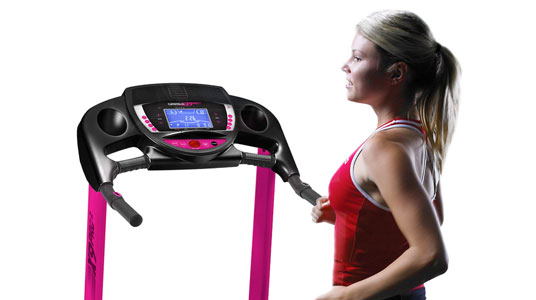 Treadmill X9 pro pink specifications