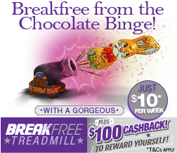 Breakfree Treadmill only $10/week!