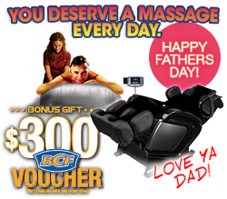 Fathers day special on Massage Chairs!
