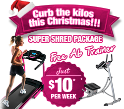 Free Ab Trainer with Treadmill!