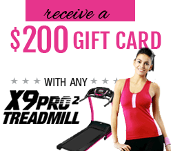$300 Lorna Jane gift with the BreakFree Treadmill