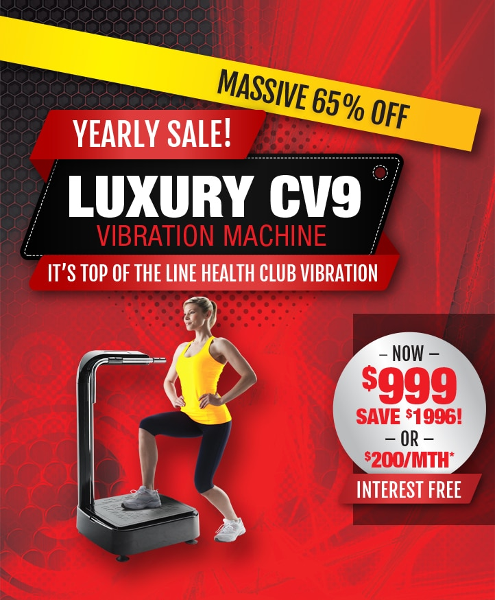 vibration machine cv9 promo