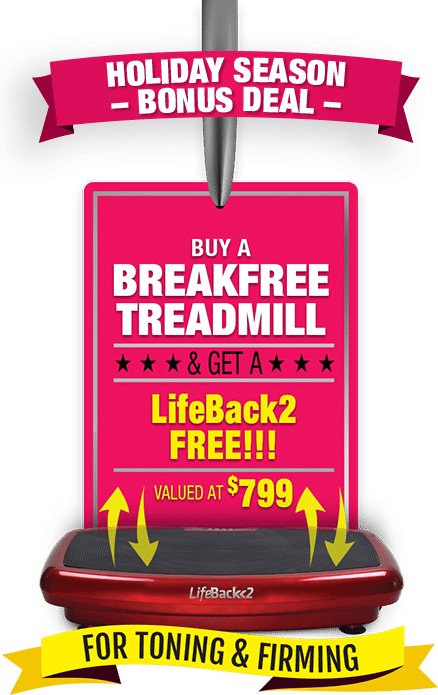 treadmill with vibration machine