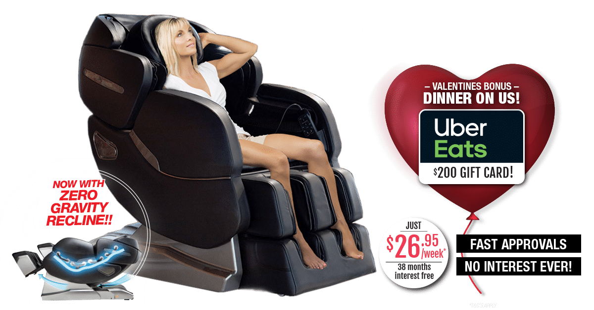 massage chair valentines day 2021
